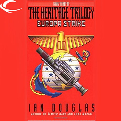 Europa Strike audiobook cover art