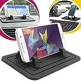 Mobilefox Tapis antidérapant en silicone pour tableau de bord de voiture Support pour Samsung Galaxy J1 J3 J5 J7