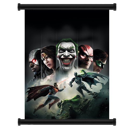 Injustice: Gods Amongs Us Video Game Fabric Wall Scroll Poster (16' x 22') Inches