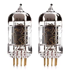 Matched Pair (2 tubes) Gain and transconductance are matched within 10% High quality tube with large detailed soundstage Gold plated pins, reduces oxidation in socket. Greater connectivity