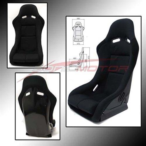 SNC Tuning VS3 Full Bucket Racing Seat Black