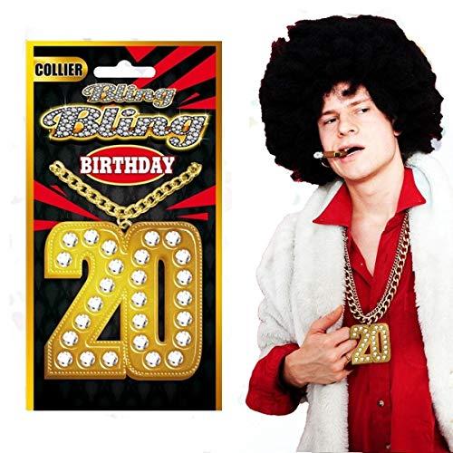 Collier Bling Bling spécial anniversaire 20 ans