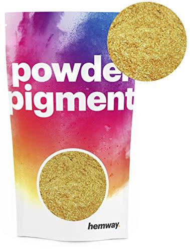 Hemway – Buntes, strahlendes Metallic-Pigmentpulver, für Epoxidharz und Polyurethanfarbe, gold
