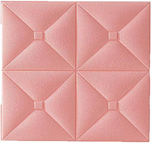 XIAOTIAN Pegatinas autoadhesivas 3D para decoración de pared de espuma, impermeable, para sala de estar, dormitorio (color: C, tamaño: 5 unidades)