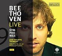 Beethoven Live 9 Symphonies by JEAN-PHILIPPE ORCHESTRE DE LA FRANCOPHONIE / TREMBLAY (2010-04-20)