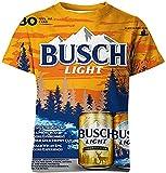 Camiseta Termica Niño Azul Camisa De Cerveza para Hombres Y Mujeres, Camisetas De Manga Corta De Verano Impresas En 3D, Camisetas, Camiseta Informal