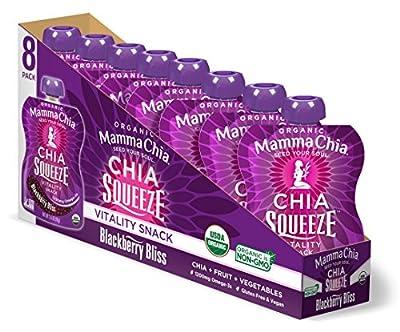 Mamma Chia Squeeze Organic Vitality Snack