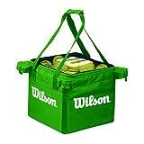 Wilson Teaching, Cesto da Tennis, capacità 150 Palline Unisex – Adulto, Lime, Taglia Un...