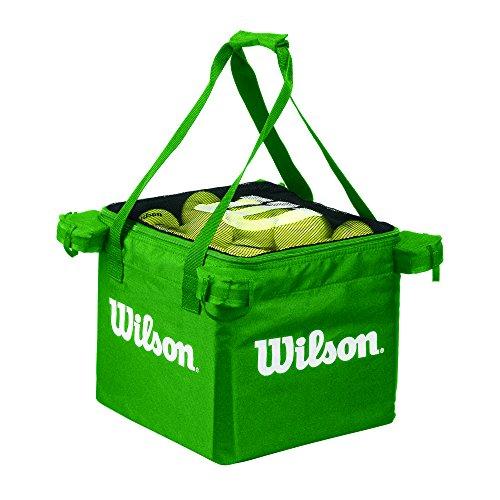 Wilson Tasche für Ballwagen, Tennis Teaching Bag für bis zu 150 Bälle, grün, WRZ541200