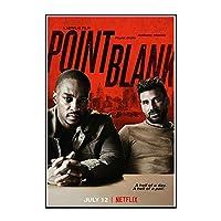 IDOLN1 ポイントブランク-この愛の映画のポスターとキャンバスのプリント壁のアート写真部屋の装飾壁の装飾絵画-50x75cmフレームなし1PCS