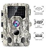 Climbose Hunting Trail Camera, 24MP 1080P HD Night Vision Hunting Video Cam, 65FOOT...