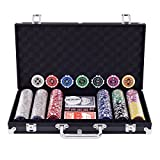DREAMADE Poker-Set mit 300 Poker Chips
