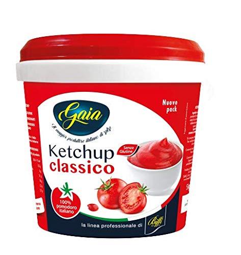 GAIA Ketchup Secchiello 5kg, Rosso