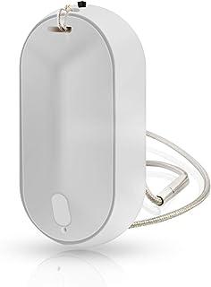 【2020年最新版】Vanazoパーソナル空気清浄機 首掛け式小型空気清浄機 マイナスイオン2000万 イオン発生器 携帯型 病菌抑制 ウイルス PM2.5 ホコリ 花粉アレル物質98%除去 静音 USB充電式 個人用 子供おすすめ (2グレー)