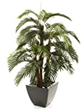 Closer to Nature Artificial 5ft Areca Palm Tree - Artificial Silk Plant and Tree Range