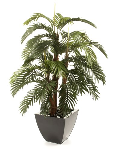 Photo of Closer to Nature Artificial 5ft Areca Palm Tree – Artificial Silk Plant and Tree Range
