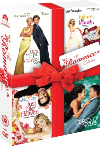 Romance Box Set (How To Lose A Guy In 10 Days, Failure To Launch, Just Like Heaven, Forces of Nature) [UK Import]