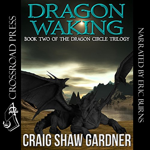 Dragon Waking audiobook cover art