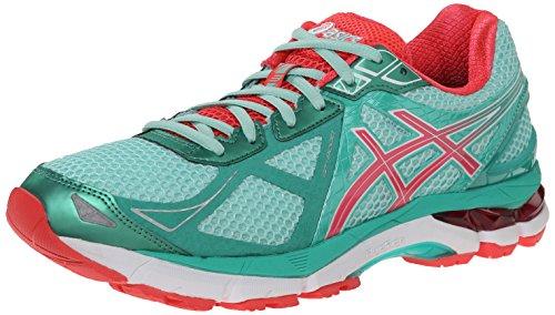 ASICS Women's Gt-2000 3 Running Shoe,Beach Glass/Diva Pink/Mint,6.5 M US