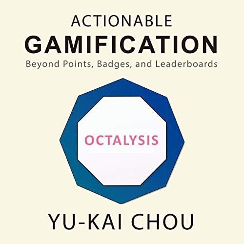 Actionable Gamification audiobook cover art