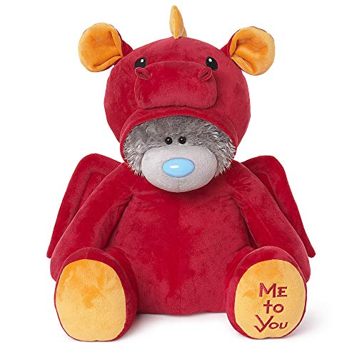 Me to You Tatty Teddy Red Dragon Dress Up Bear