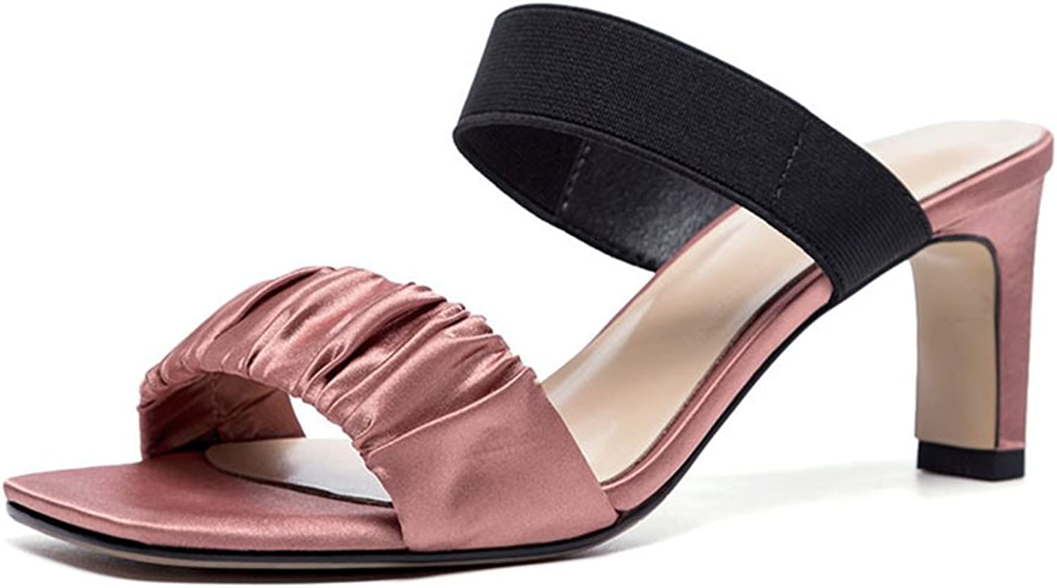 Women's shoes 2018 Fashion shoes Summer New Sandals Slipper Rough Heel for Casual Dress Party & Evening