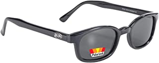 Original X-KD's Biker Polarized Lenses Black Frames 20% Sunglasses
