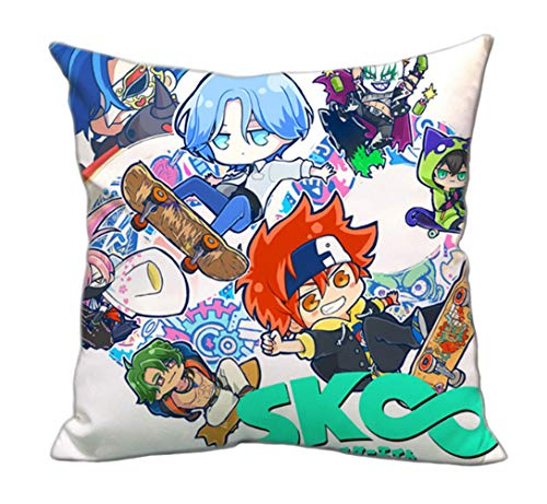 MayMaxPlay SK8 The Infinity Plush Toy Pillow Doll Miya Cartoon Plush Stuffed Soft Bed Cushion (Color 4) -  MM