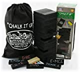 Chalk It Up Design Your Own 60pc XL Wooden Tower Deluxe Stacking Game