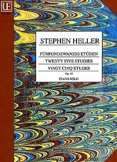 25 MELODISCHE ETUEDEN OP 45 - arrangiert für Klavier [Noten / Sheetmusic] Komponist: HELLER STEPHEN