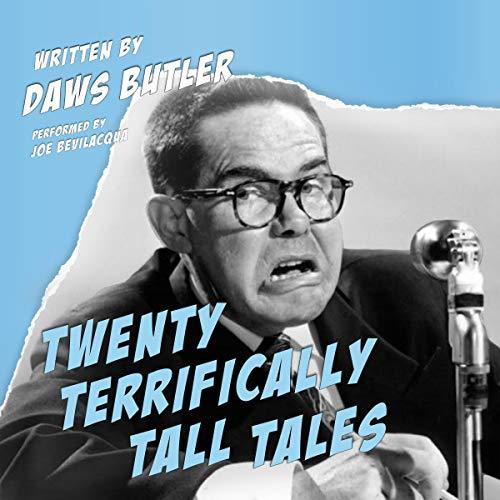 Twenty Terrifically Tall Tales audiobook cover art