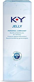 K-Y Jelly Personal Lubricant 8 oz (4 Bottles x 2 oz), Premium Water Based Lube For Women, Men & Couples, Pack of 4