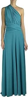 turquoise blue infinity dress