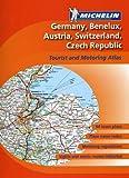 Michelin Atlas Germany/Benelux/Austria/Switzerland/Czech Republic (Atlas (Michelin))