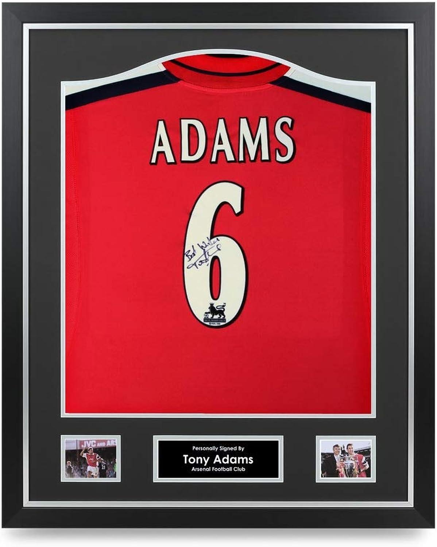 pretty nice b7e39 a21f9 Tony Adams Signed Shirt Shirt Shirt Arsenal Framed Autograph ...