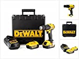 DeWalt DCD780M2-QW Perceuse-visseuse, 2 vitesses, 2 batteries