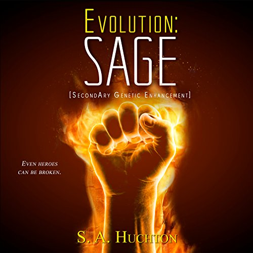 Evolution: SAGE audiobook cover art