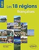 Les 18 régions françaises