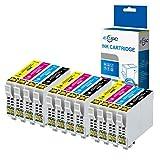 ECSC Compatible Encre Cartouche Remplacement Pour Epson XP-455 XP-452 XP-445 XP-442 XP-435 XP-432 XP-355 XP-352 XP-345 XP-342 XP-335 XP-332 XP-257 XP-255 XP-247 XP-245 XP-235 T2996 (B/C/M/Y, 12-Pack)