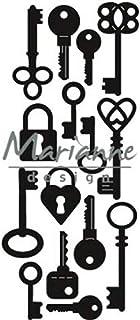 Marianne Design Matrices de Découpe et Embossing Creatables, clés, de pour Projects de Loisirs créatifs avec du Papier