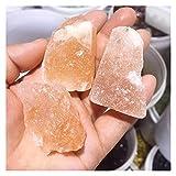 YSJJDRT Cristal Natural Rugoso 100G Natural Amarillo Salida Joya Pulida Cristal Cristal áspero Gema Mineral Hogar Tabletop Decoración de Acuario (Color : 100G)