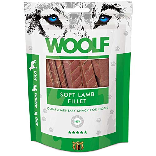Woolf Cane, Snack Filetto di Agnello Gr.100