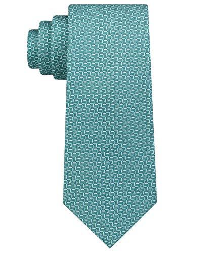 Michael Kors Corbata geométrica para hombre - verde - talla única