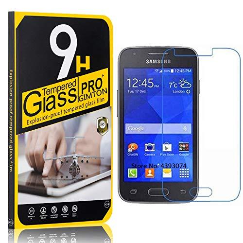GIMTON Displayschutzfolie für Galaxy Ace 4 G313, Ultra klar Schutzfilm aus Gehärtetem Glas, Anti Kratzen Displayschutz Schutzfolie für Samsung Galaxy Ace 4 G313, 3 Stück