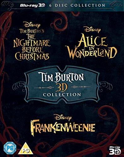 Tim Burton 3D Movie Collection [Blu-ray]