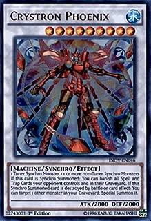 Yu-Gi-Oh! - Crystron Phoenix (INOV-EN046) - Invasion: Vengeance - 1st Edition - Ultra Rare