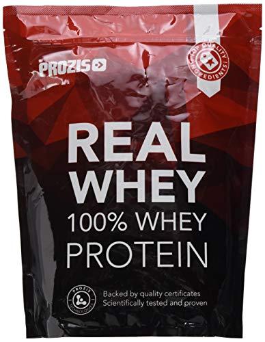 Prozis 100% Real Whey Proteine in Polvere, Cioccolato Bianco con Lamponi- 1000 g