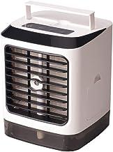 Air Cooler Portable Air Conditioner, Humidifier, Purifier, Mini USB Evaporative Cooler Fan 3 Speeds 7 Colors LED Desk Quie...