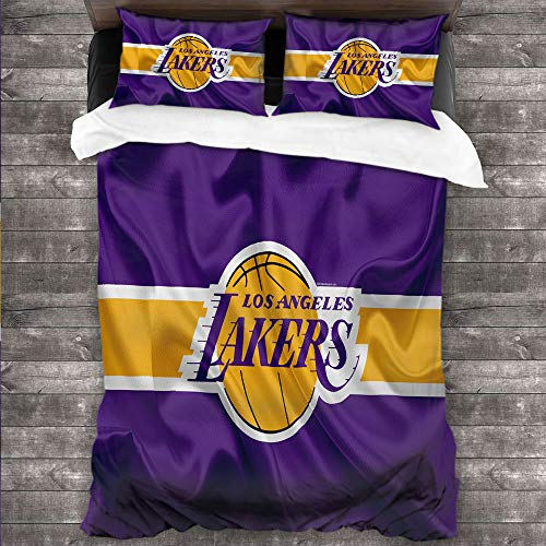 DRAGON VINES Four-piece bedding bedclothesflat sheet queensizebed L-os-A-ngeles-La-kers-Playoffs-East-and-West-Finals.jpg bright color W85 xL85