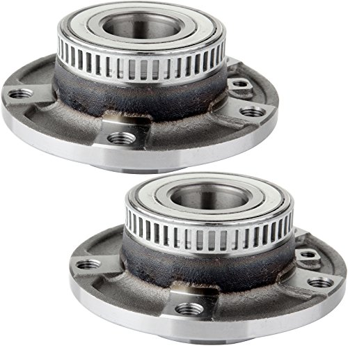 SCITOO Compatible with Set of 2 Front Wheel Bearing Hub Assembly fit BMW 318 320 323 325 735i 735il 740il 750il M3 Z3 Z4 W/ABS